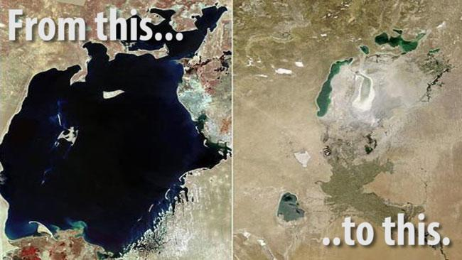The (Death of) Aral Sea